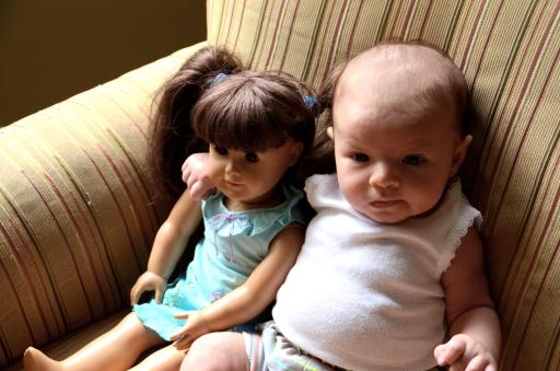 Harper and her BFF Samantha